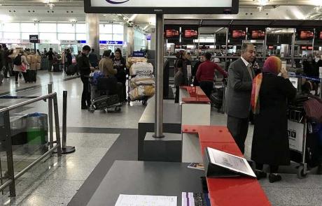 Atatürk Havalimanı GT Turizm Yurtdışı Tur Buluşma Masası