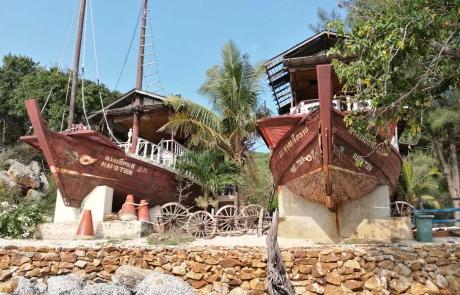 Gemiler - Mercan Adası - Pattaya Tayland