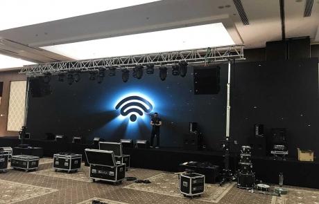 Sahne Hazırlıkları - LED Ekran