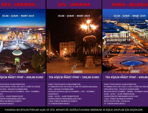 2019 Yurtdışı Turları