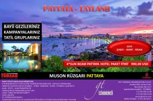 Pattaya Tayland Gezi Tur 2019 Şubat Mart Nisan