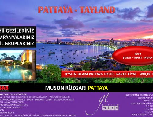 Pattaya Tayland Turu